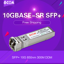 6COM Compatible for MikroTik  S+85DLC03D 10Gb SFP+ module 10GBase-SR, MMF 850nm 300m