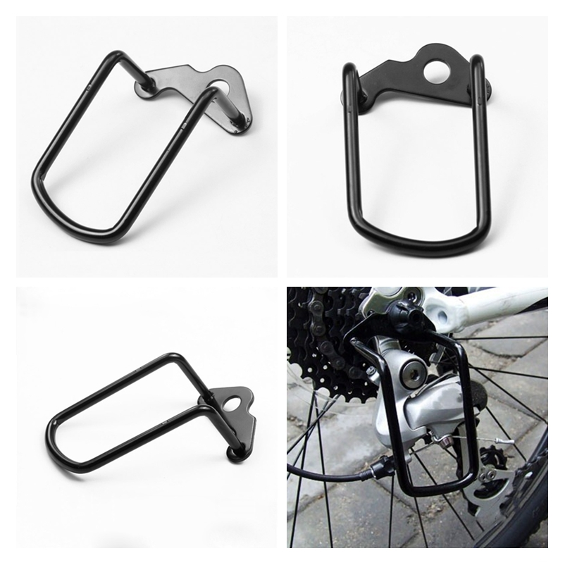 1pcs-adjustable-steel-black-bicycle-mountain-bike-rear-gear-derailleur-chain-stay-guard-protector-outdoor-cycling-accessories