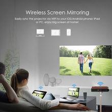 S6W Portable Pocket Mini 3D DLP Projector