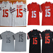Ohio State Buckeyes 15 Ezekiel Elliott Stitched College Football Jersey Size  S-XXXL(China 092339ec8