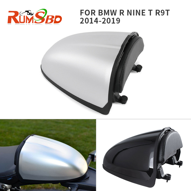 For 2014 2019 BMW R NINE T R9T Rear Seat Hump Trunk Storage Box Swingarm  Pillion Cowl Cover 9 2015 2016 2017 2018