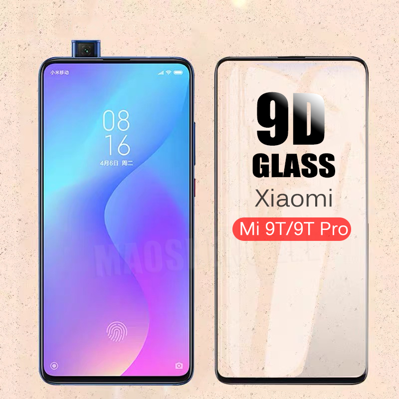 New 9D Tempered Glass For Xiaomi Mi 9T Pro Full Cover Screen Protector Tempered Glass For Xiaomi Mi 9T Glass Film