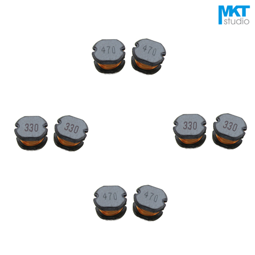20Pcs Free Shipping SMD 7.8*7*5mm Chip Choke Coils Wire Wound Power Inductor 1mH
