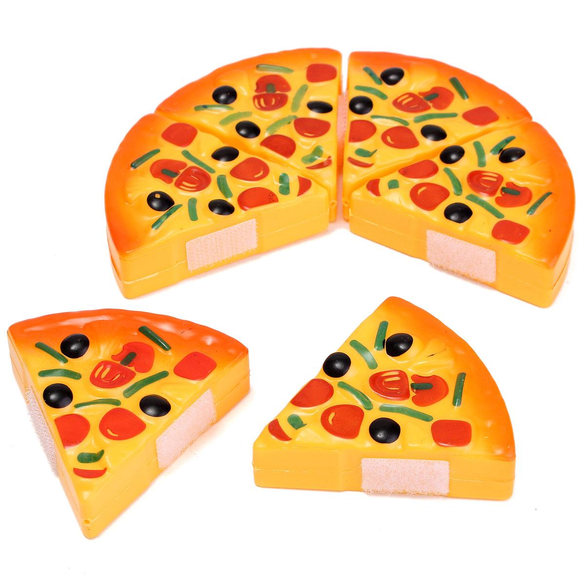 Baby Kids Children Cutting Plastic Pizza Toy Food Kitchen