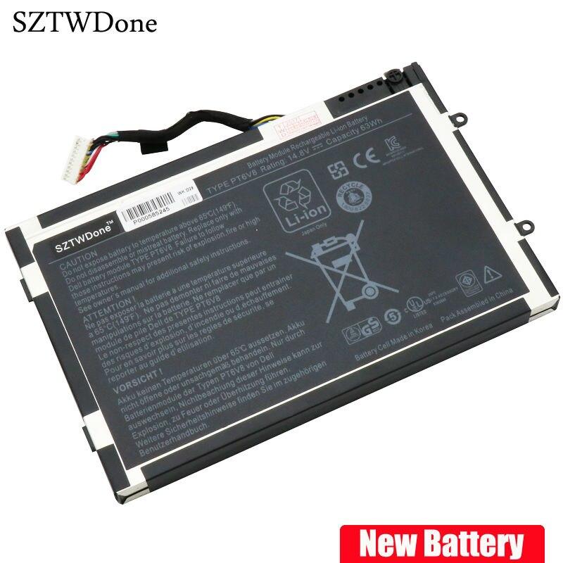 Sztwdone neue pt6v8 laptop akku für dell alienware m11x r1 r2 R3...