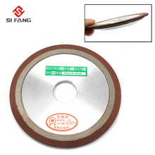 цена на 150mm PDX Tapered Plain Resin Diamond Grinding Wheel to Grind Carbide Hard Steel 150 Grit Bore Dia 16/20/25/32mm