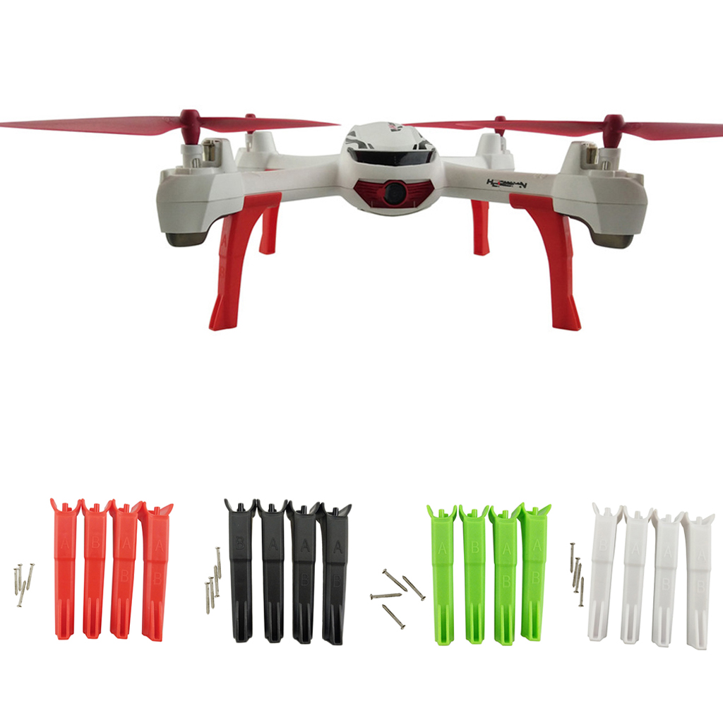 4 Pieces Upgrade Tripod Landing Gear for Hubsan X4 H502S H502E Drone