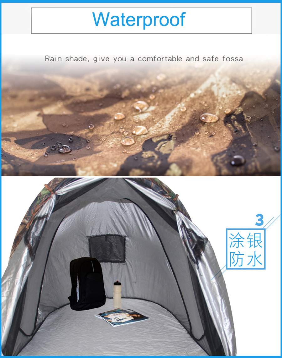 Ultralight Camouflage Camping Hunting Tent (1)