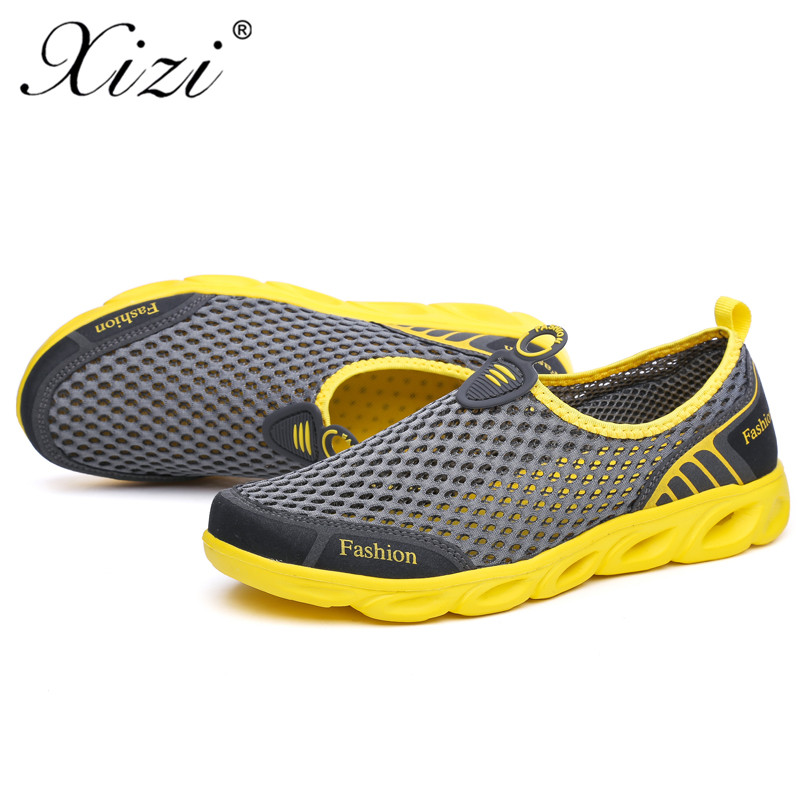 XIZI 2018 New mens running shoes mens jogging mesh summer sports shoes sports sandals size39- 45 track shoes masculino adulto