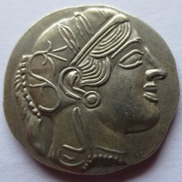 Wholesale 90%silver G(04)Ancient Athens Greek Drachm Atena Greece copy coin