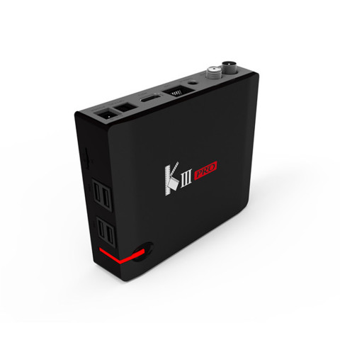 MECOOL KIII PRO Combo DVB-S2 DVB-T2 DVB-C Android 7.1 TV Box 3GB 16G K3 Pro Amlogic S912 Octa Core 64bit 4K NEWCAMD Media Player Multan