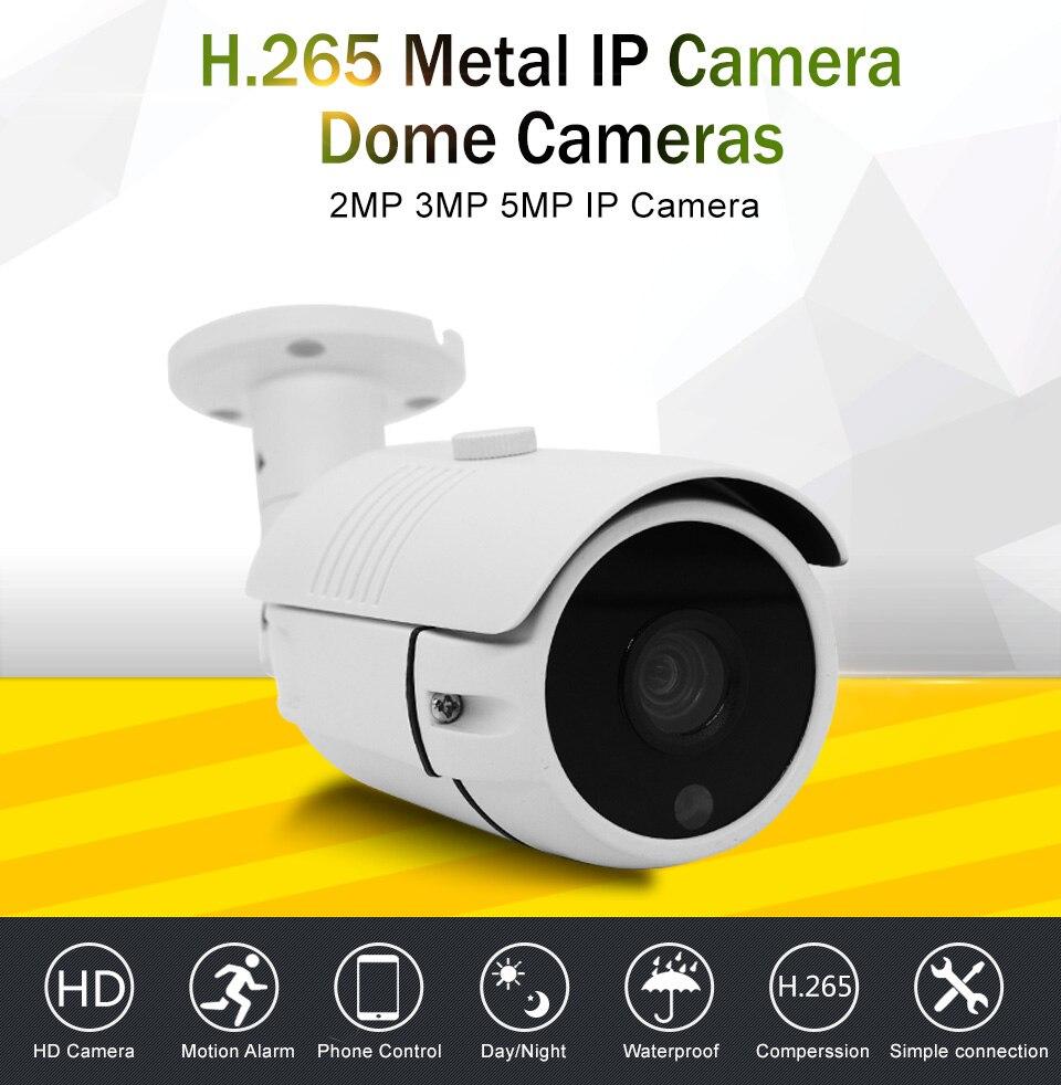 2.8mm metal h265 h264 48 v poe