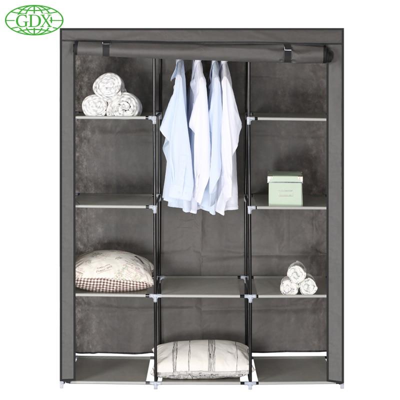 Gdx Brand New Storage Closet Large Wardrobe Cabinets