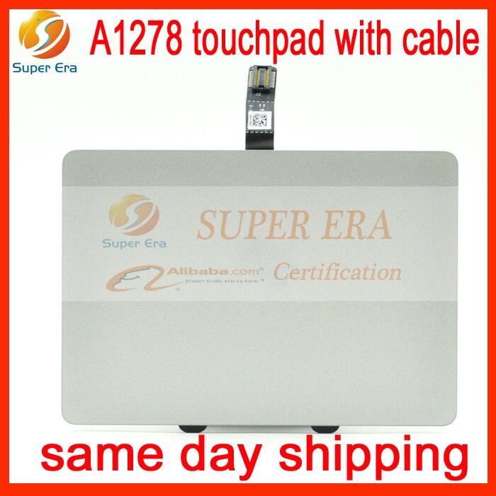 A1278-touchpad met kabel voor macbook pro 13.3inch A1278-trackpad met - Notebook accessoires
