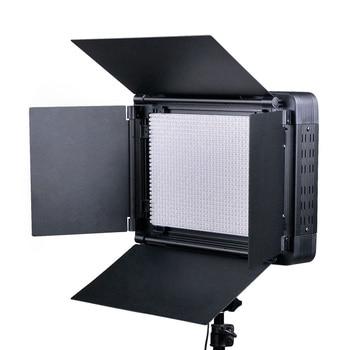 NICEFOTO LED-1080DMX LED Flat Lamp DMX Control 204 LED Beads LED Video Light High Brightness 10000LM