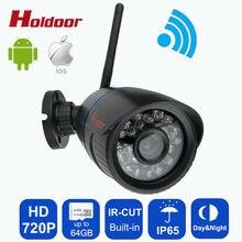 Onvif 2,1 безопасности IP Камера Wi-Fi Открытый ночного видения 720 P Водонепроницаемый IP65 сети 1.0MP HD беспроводного видеонаблюдения Камера с IR-CUT