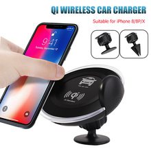 DCAE Qi Wireless Car Charger For iPhone XS Max XR X 8 Samsung S8 S9 Xiaomi