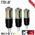 2pcs Free ship powerful drl light G4 Hp24w 32 4014 12V g4 led bulbs Daytime Running Lights for Citroen c5 and peugeot 3008