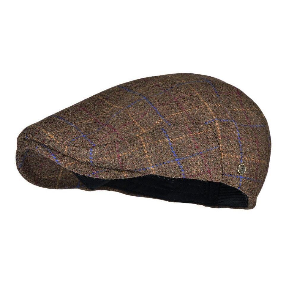 0fd793909b742b VOBOOM Warm Newsboy Caps Men Woolen Tweed Beret Gatsby Twill Driving Flat  Cabbie Hat Casual Beret Boina 184