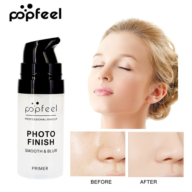 Poppim profesional maquillaje Primer cara Base de maquillaje Base de imprimación crema hidratante de larga duración Control de aceite maquillaje cosmético