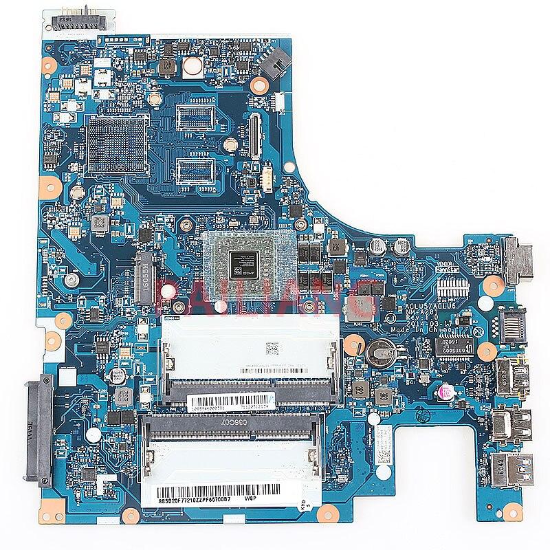 PAILIANG placa base de computadora portátil para Lenovo G50-45 PC placa base AMD EM6010 MB ACLU5 ACLU6 NM-A281 15 pulgadas completa tesed DDR3