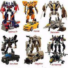 Caja Original transformación 4 abejorro Brinquedos Megatron Galvatron Robots figuras de acción Juguetes clásicos Juguetes para los regalos Juguetes