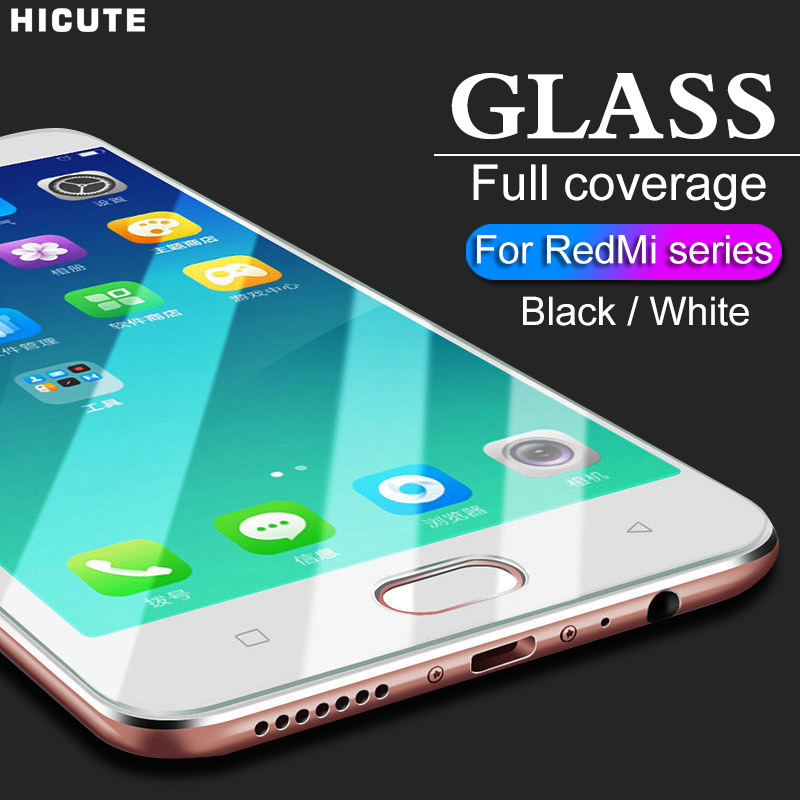 Protective Glass For Xiaomi Redmi Note 5 5A Prime 6A note 6 pro Tempered glass on Redmi 5 plus 6A note 7 pro 6 Screen Protector-in Phone Screen Protectors from Cellphones & Telecommunications