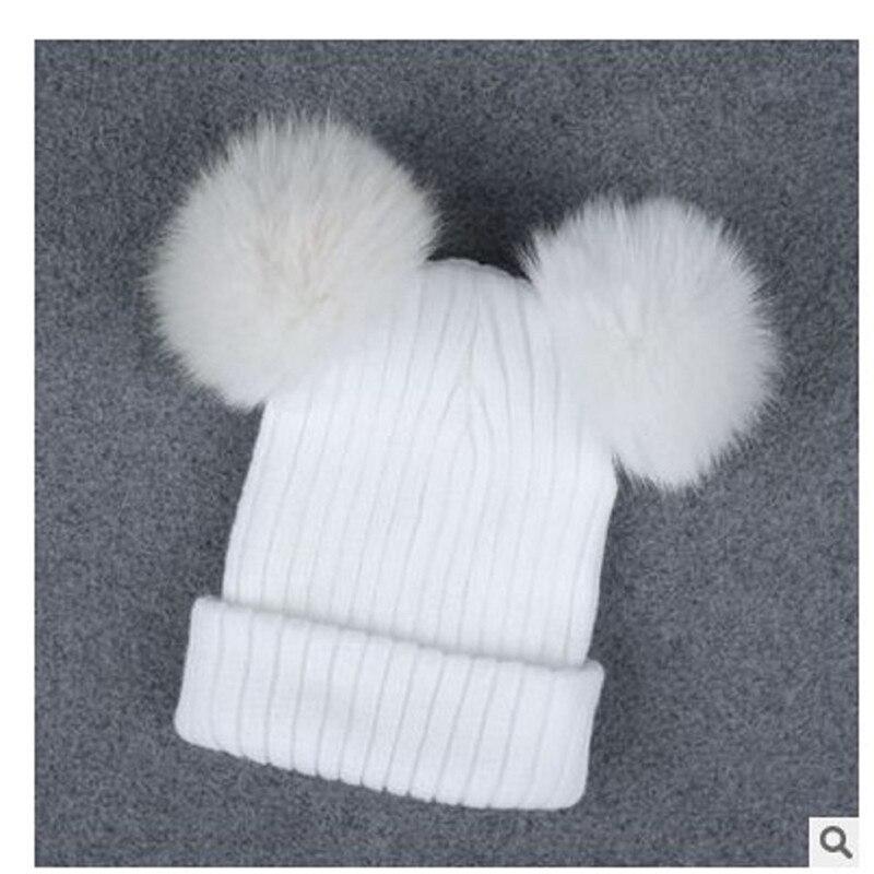Плетеный крючком шерсть вязать шапочки Берет лыж мяч Кепки Багги женская зимняя теплая шапка