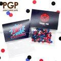 [PGP] bolsa de caramelos Spiderman, para regalo de agradecimiento para niños primer segundo tercer cuarto 5th 6th fiesta de cumpleaños decoración de superhéroe