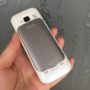 Image 4 - ตกแต่งใหม่NOKIA C5 00 โทรศัพท์มือถือปลดล็อกC5 โทรศัพท์ภาษาอังกฤษฮีบรูอาหรับรัสเซียแป้นพิมพ์ & Oneปี