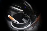 1pcs Cigarette Ashtray Plastic For Mercedes Benz CLA C117 W117 2014 2015