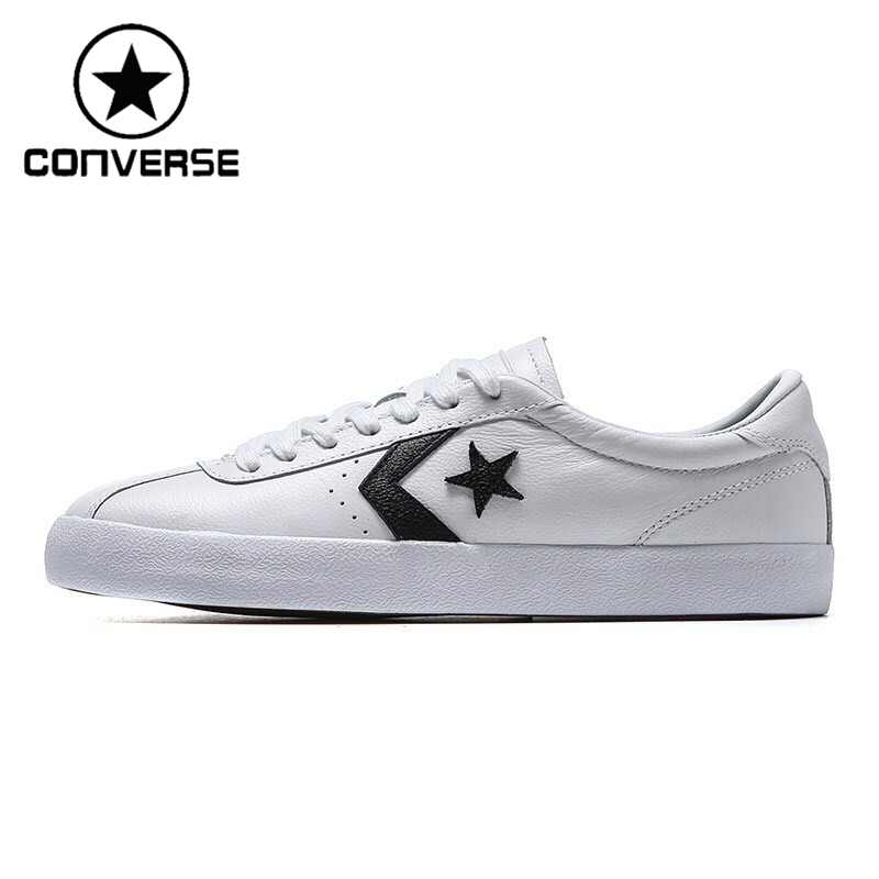 Original New Arrival 2017 Converse Star Player Unisex Skateboarding Shoes leather Sneakers original converse selene monochrome leather women s skateboarding shoes sneakers