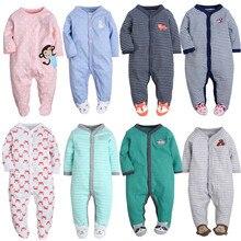 Г. Одежда для маленьких мальчиков и девочек; комбинезон с длинными рукавами и милыми животными для новорожденных; Модный Детский костюм