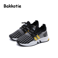 Bakkotie 2018 Spring Autumn Baby Boy Fashion Child Shoe Leisure Kid Elastic Band Toddler Girl Casual Breathable Sneaker Trainer
