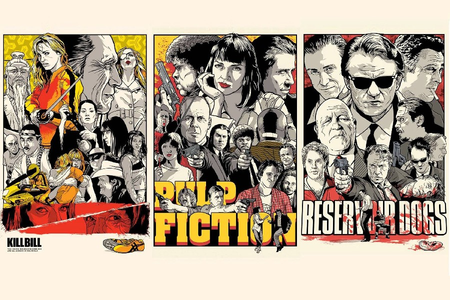 quentin-font-b-tarantino-b-font-pulp-fiction-kill-bill-reservoir-dogs-movie-poster-silk-fabric-cloth-print-wall-sticker-wall-decor