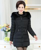 MS kış kürk kapüşonlu ceket yeni fon vogue lady uzun ceket bile kış ceket kişinin ahlak pamuk ceket ücretsiz