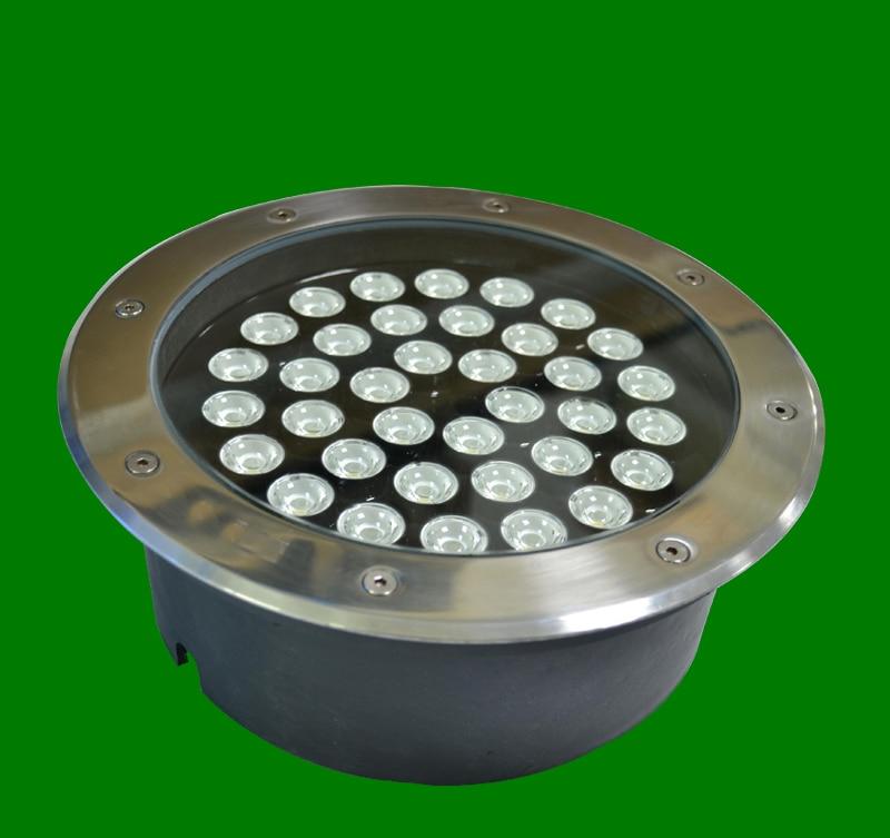2pcs/lot 36W LED round underground lamps Buried lighting step light led LED outdoor lamps led floor light 12V AC85~265V IP67