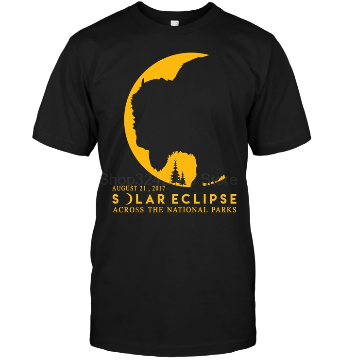 August 21, 2017 Solar Eclipse Across National Parks T-Shirt Men's Short Sleeve T-Shirt image