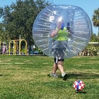Free Shipping 0.8mm PVC 1.5m Inflatable Bubble Soccer Ball Bubble Football Inflatable Zorb Ball Bumper Ball Human Hamster Ball