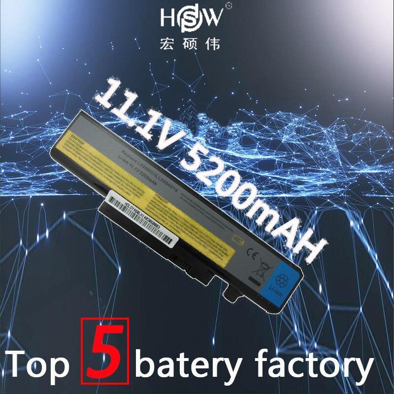 HSW 5200mAH Battery For LENOVO IdeaPad B560 Y460 V560 Y560 Y460A Y460AT Y460C Y460N Y460P Y560 Y560A Y560P 57Y6440 L10S6Y01