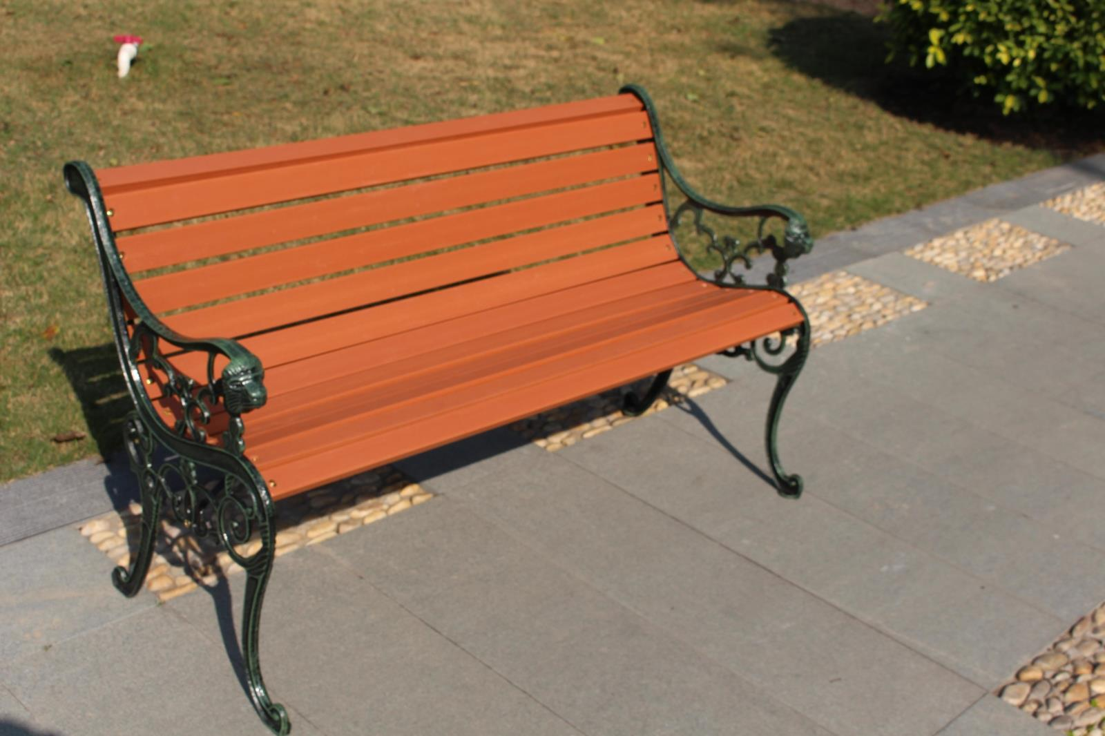Garden Seats Benches Us 214 5 Outdoor Furniture Park Chairs Iron Garden Bench Benches Chair Square In Patio Benches From Furniture On Aliexpress Alibaba Group