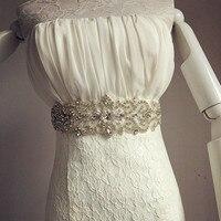 Новое поступление Свадебные шелковые ленты ремня со стразами Свадебные украшения пояс для Для женщин