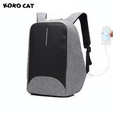 2017 kokocat оксфорды Модные мужские ноутбук рюкзаки 15.6 дюймов USB унисекс Дизайн сумки для школы рюкзак повседневный рюкзак 3 цвета