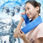 New Summer Ice towel 1PC 80x17cm PVA Sports Hypothermia Towels Summer Exercise Sweat Ice Cold Towel Quick Drying Towels 35