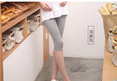 leggings pant calcas de gravidez vetement femme