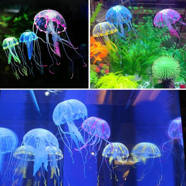 plante aquatique fluorescente