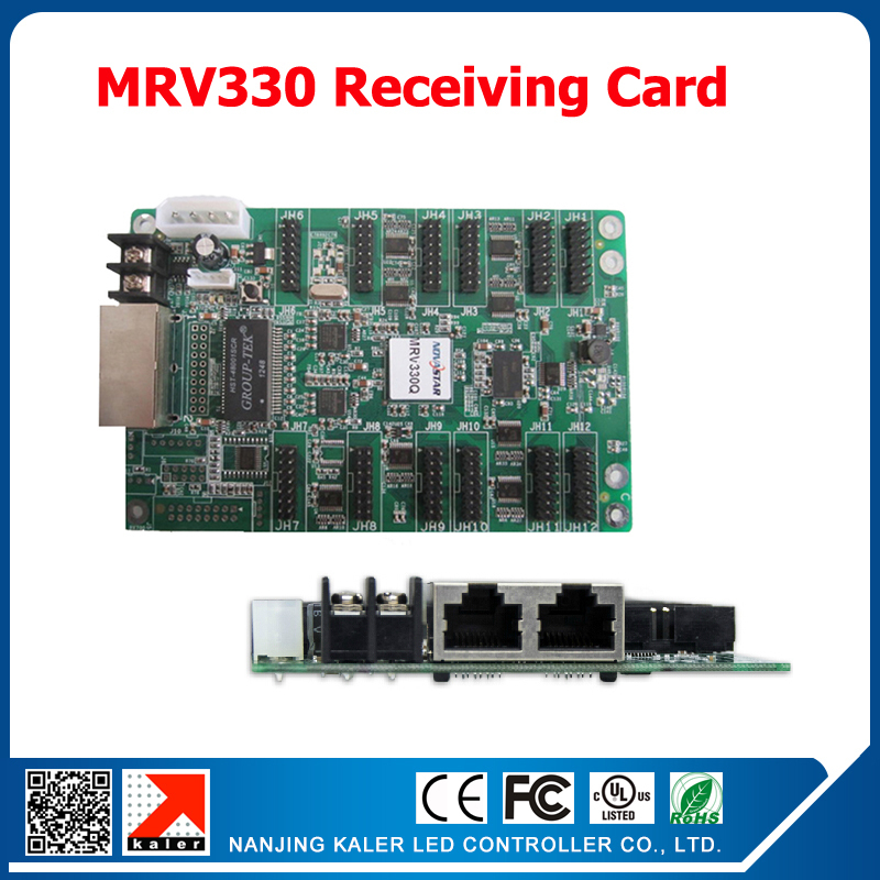 NOVA MRV330 LED Display Receiving Card Working With LED Sending Card MSD 300 MSD600 For Led Video Wall