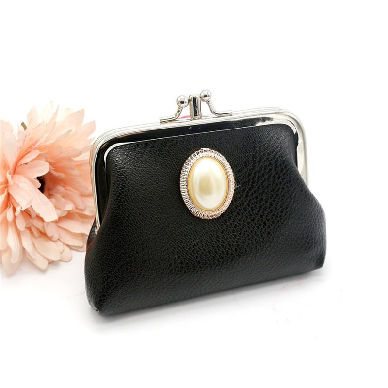 2017 New Fashion Women PU Leather Solid Pearl Lady Hasp Purse Clutch Bag luxury pouch hand bags monederos  @ xs new leather purse fashion in europe and america smooth clutch bright leather hand bag