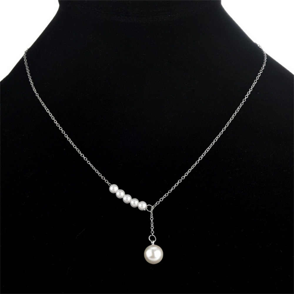 Stylish Wild Necklace Women Clothing Accessories Lady Necklace Collarbone Chain High Quality Luxury Long Pendant Necklace  L0325