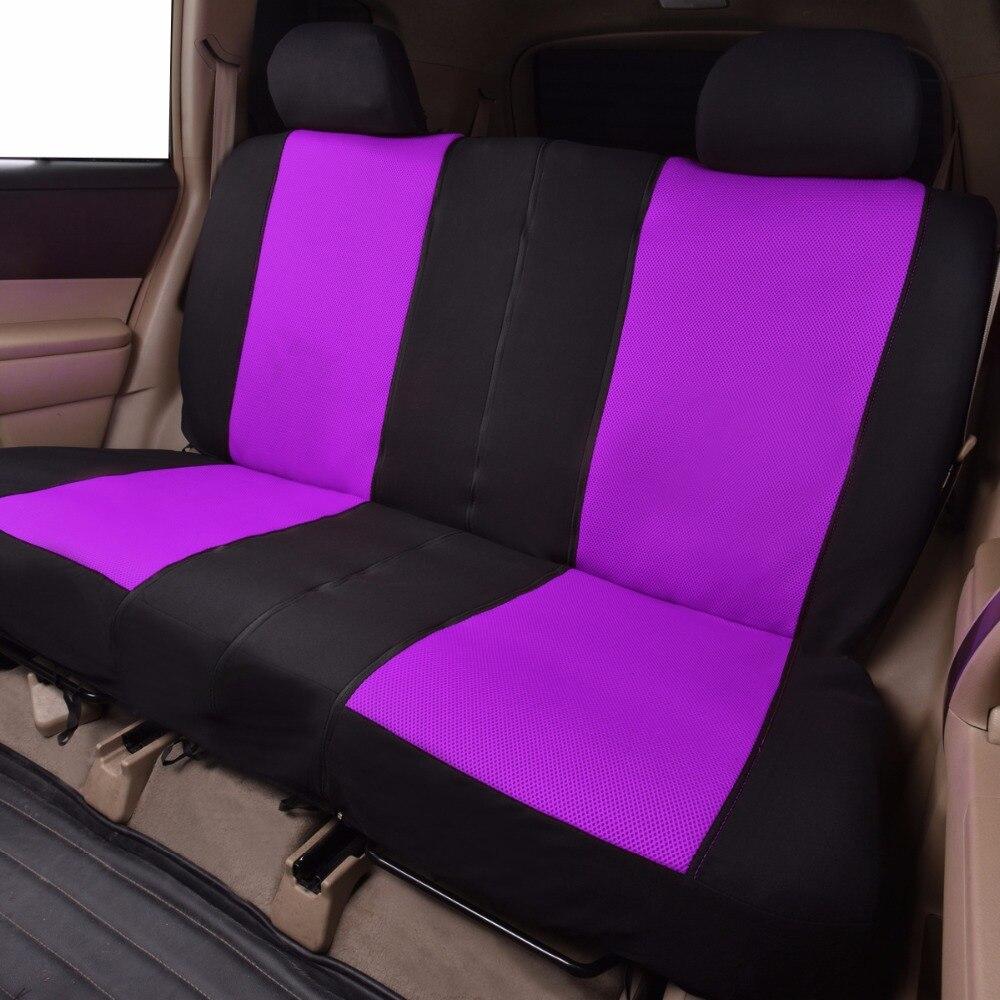 FlyingBnanner housses de siège de voiture en tissu maille universel pour la plupart des véhicules sièges accessoires intérieurs housse de siège de voiture protecteur 4 couleurs - 3